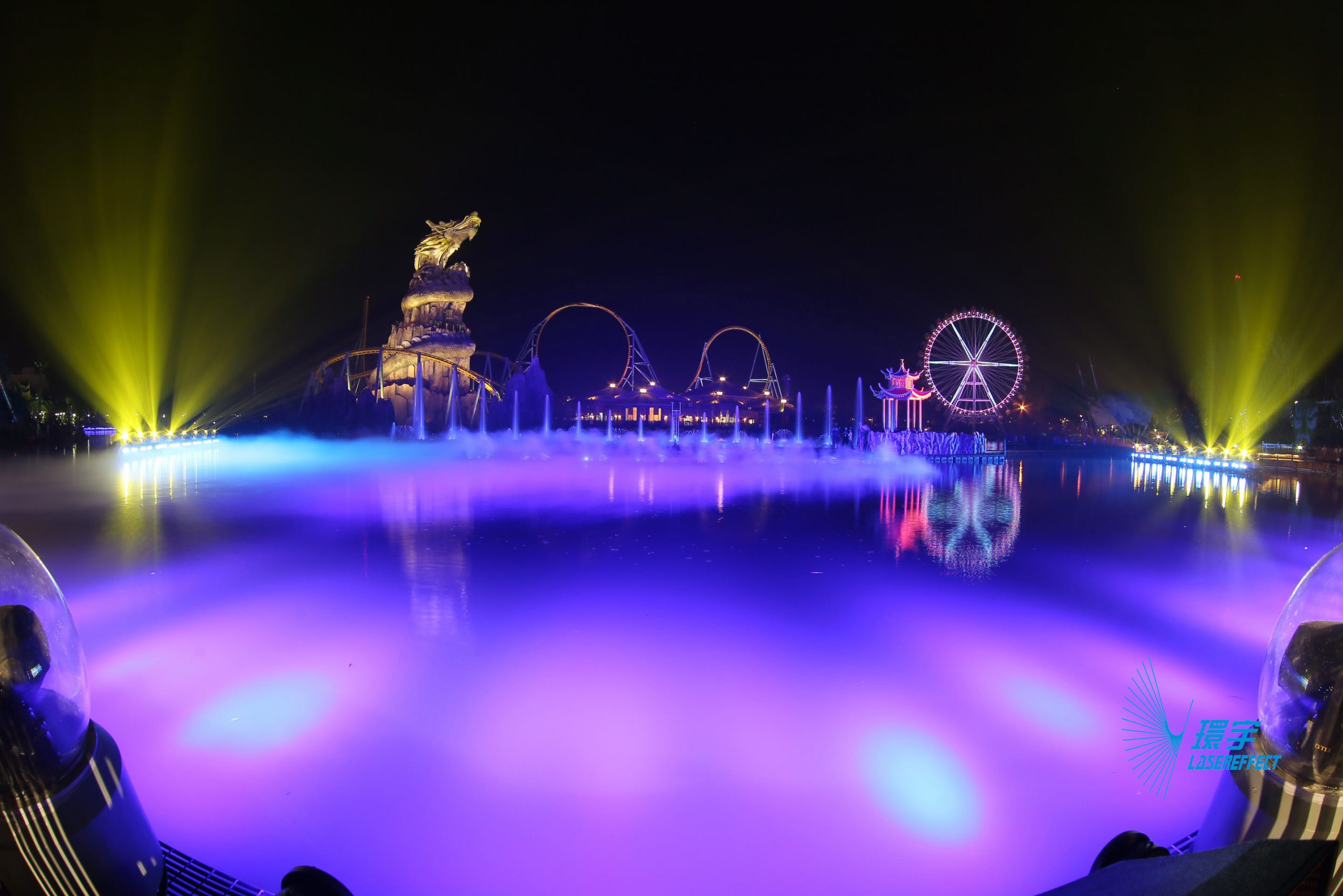 "Hefei Wanda Great Lakes Show ""The Legend of Chaohu"""