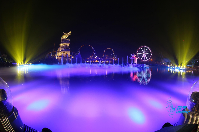 """Chương trình nhạc nước Đại hồ ở Vạn Đạt, Hợp Phì """"Sào Hồ Truyền Kỳ"""""""